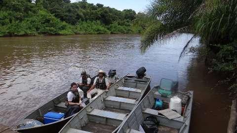 Pesquisa quer mapear influência de agropecuária e urbanização no Rio Aquidauana
