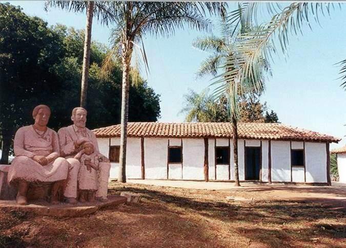 Museu José Antônio Pereira, na avenida Guaicurus, onde foi a primeira casa do fundador. (Foto: Arquivo histórico)