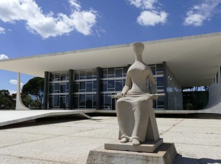 Sede do STF (Supremo Tribunal Federal), em Brasília (Foto: Divulgação)
