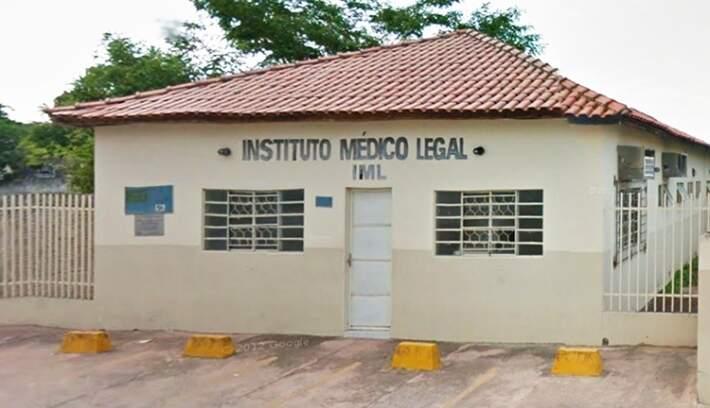 Prédio do IML em Corumbá (Foto: Divulgação/Correio do Corumbá)