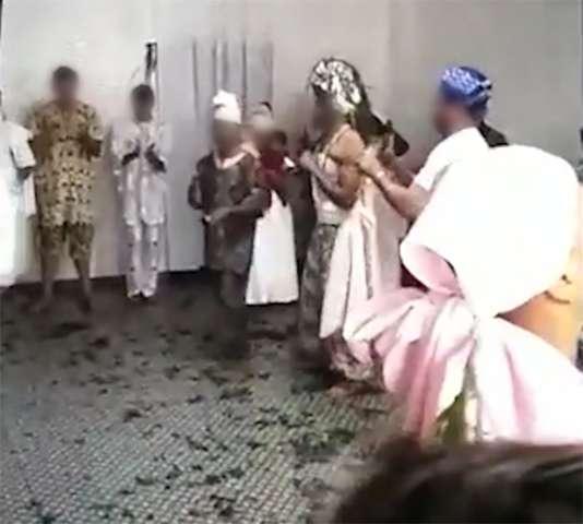 Medidas de segurança foram tomadas durante ritual religioso, garante dirigente