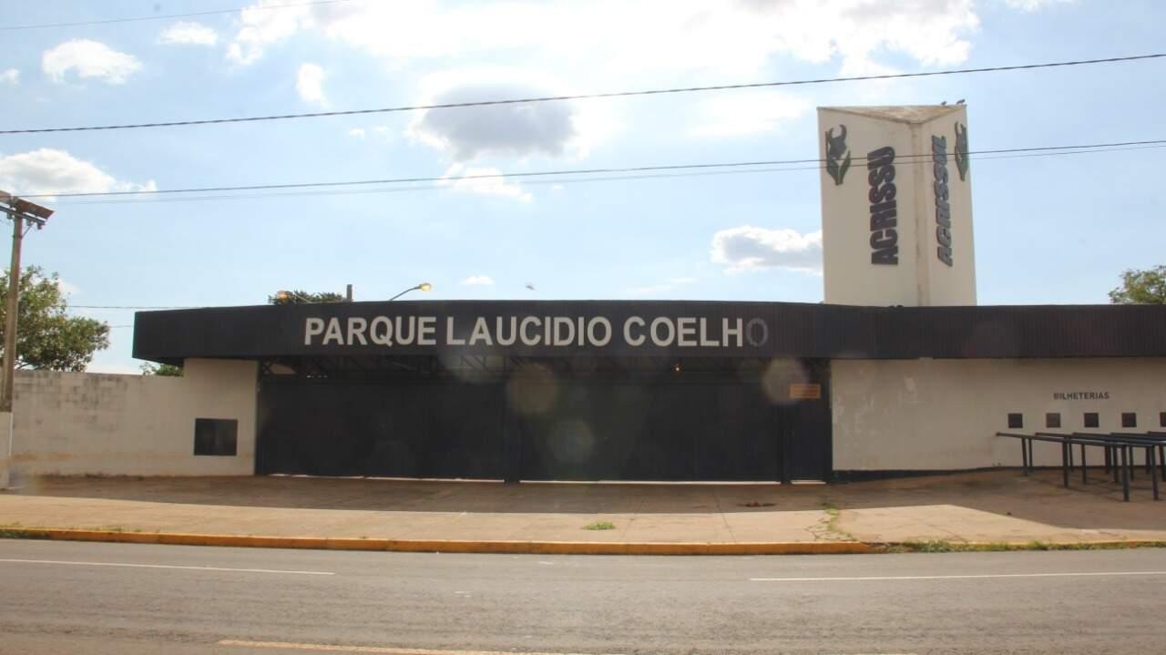 Parque Laucídio Coelho sedia a Expogrande, que neste ano não foi realizada devido à pandemia. (Foto: Arquivo)