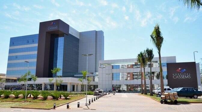 Hospital da Cassems já registrou duas mortes pelo novo coronavírus (Foto: Divulgação/Governo do Estado)