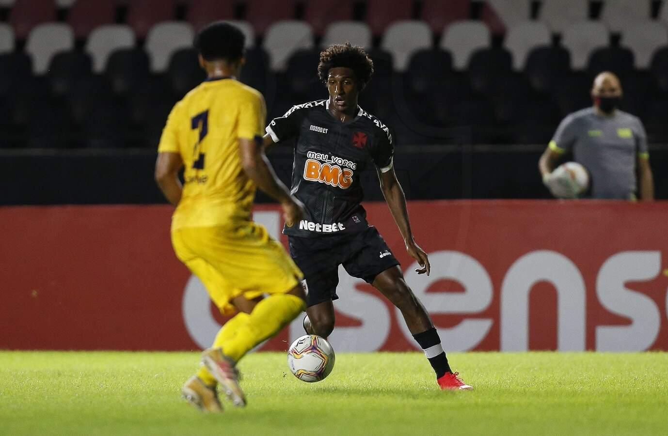 Lance do jogo desta noite em São Januário. (Foto: Rafael Ribeiro/Vasco)