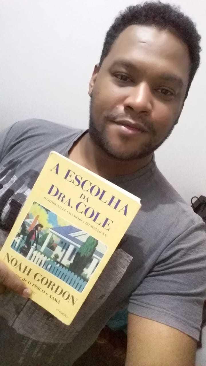 Luiz diz que continua lendo os mesmos autores de sempre (Foto: Arquivo Pessoal)