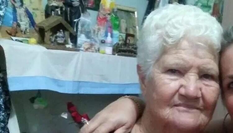 Vicentina das Dores Ponciano, de 84 anos, é a primeira vítima da covid-19 no município de Cassilândia. (Foto: Reprodução Facebook)