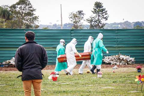 Com 1.277 mortes em 24 horas, país tem 1,5 milhão de infectados com a covid-19