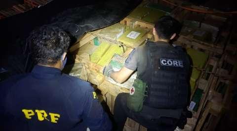 PRF apreende 5 toneladas de maconha que abasteceriam tráfico no Complexo da Maré
