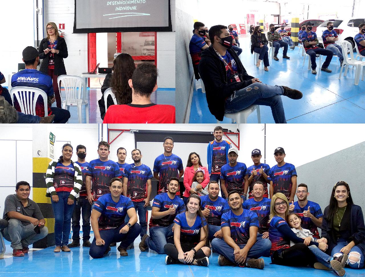 Evolution Day com a equipe de colaboradores (Foto: Divulgação)