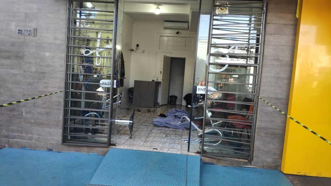Secretário foi morto dentro da barbearia de propriedade dele, em Dourados (Foto/Divulgação)