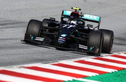 Valteri Bottas leva a Mercedes para a primeira vitória do ano (Foto: Divulgação)