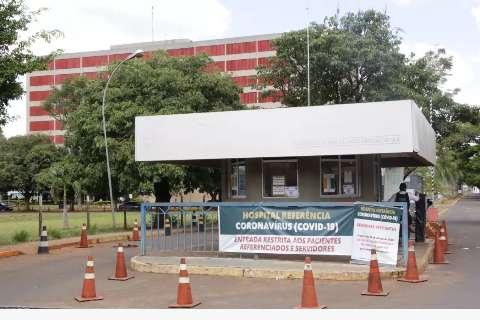 Abarrotado com a covid, HR começa a pedir socorro a outros hospitais