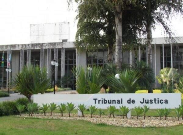 Prédio do Tribunal de Justiça em Campo Grande. (Foto: Arquivo)