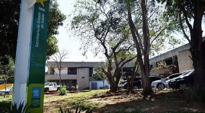 Sede da Secretaria Estadual de Saúde, em Campo Grande (Foto: Divulgação - Governo)