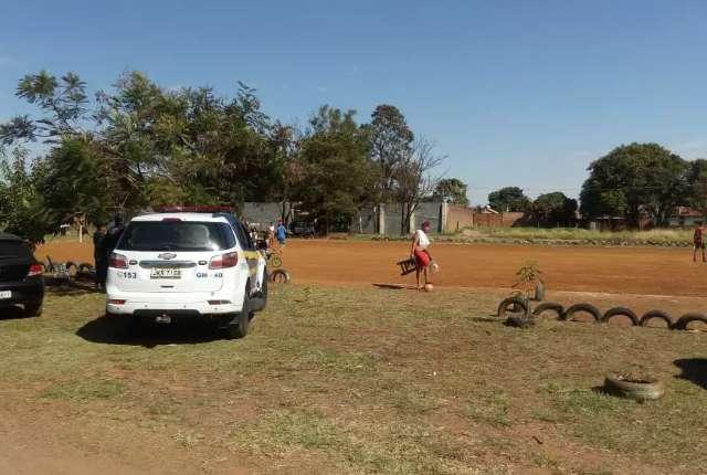 Guarda é acionada e encerra jogo com 80 pessoas na Nova Campo Grande