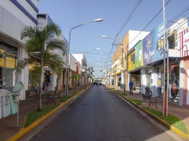 Paranaíba é uma das cidades onde o alerta do Inmet é válido nesta tarde (Foto: Divulgação/Prefeitura de Paranaíba)