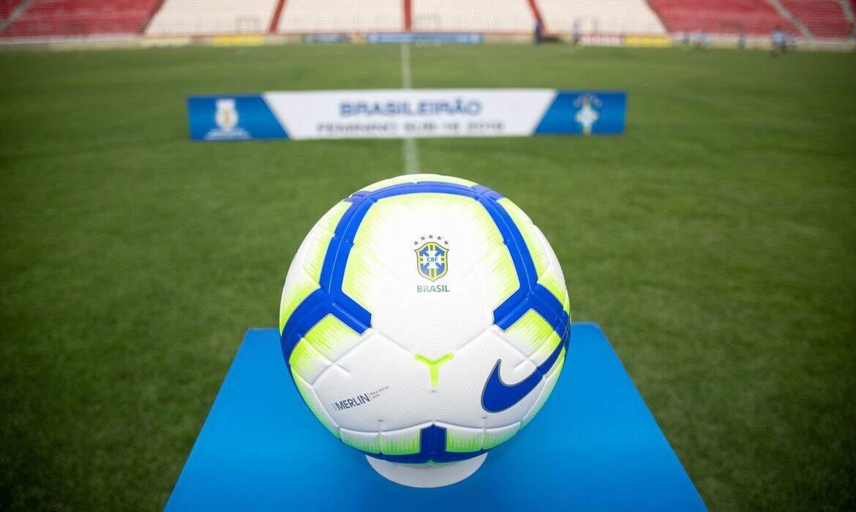Bola oficial da CBF que é utilizada nas disputas do Campeonato Brasileiro. (Foto: Yuri Laurindo/CBF/Direitos Reservados/ReproduçãoAgênciaBrasil)