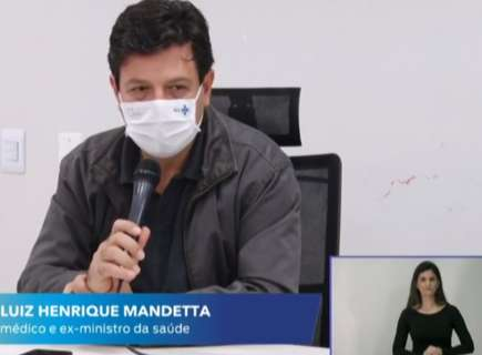"""""""Eu vejo gente pensando que não tem pandemia"""", diz Mandetta à Capital"""