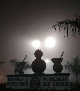 Fronteira despenca aos 9°C e Campo Grande aos 14°C em quarta cinzenta