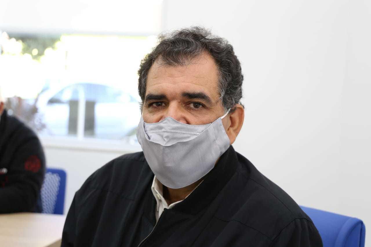 Presidente do Hospital do Câncer, Amilcar Silva Junior (Foto: Paulo Francis)