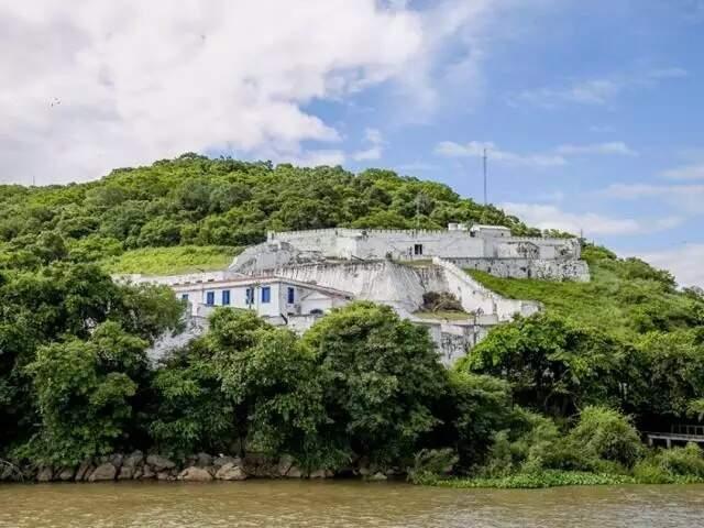 Forte Coimbra foi construído no período imperial para reforçar segurança na fronteira do País (Foto: Divulgação/Prefeitura de Corumbá)