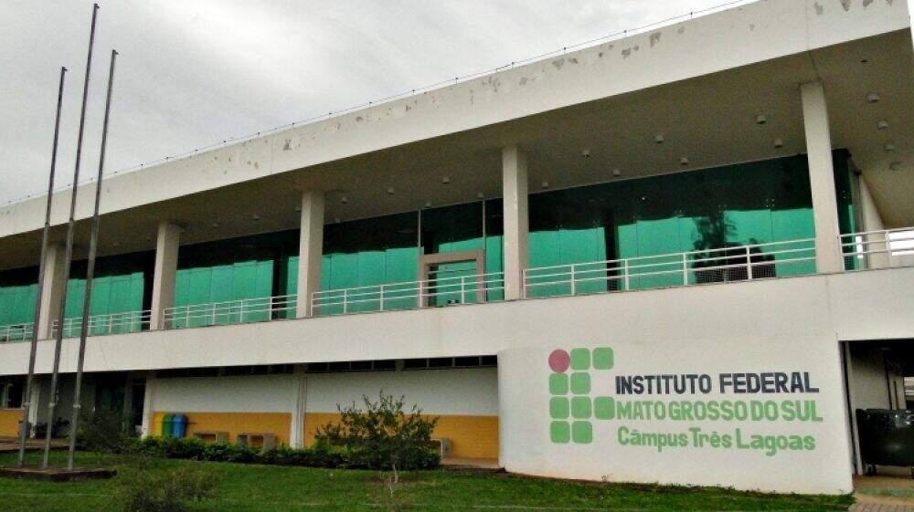 Campus do IFMS em Três Lagoas. (Foto: Divulgação)