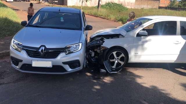 Passageiro envolvido em acidente reclama de sinalização nas Moreninhas