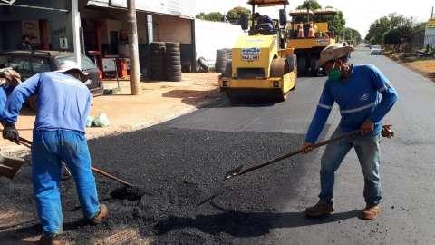 Prefeitura inicia terceira etapa de recapeamento no Nova Lima