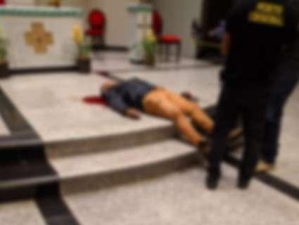 Homem se suicida no altar de igreja após matar ex e balear 5 pessoas
