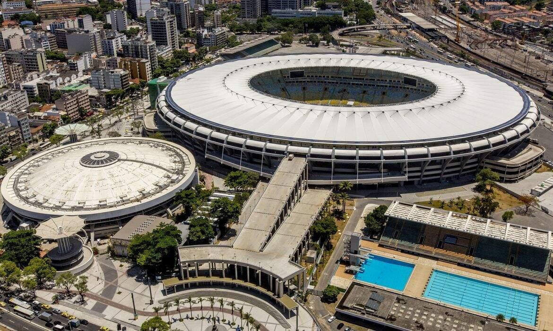 O estádio Maracaná, no Rio de Janeiro, onde vai haver Fla-Flu neste domingo. (Foto: Daniel Basil/Portal da Copa)
