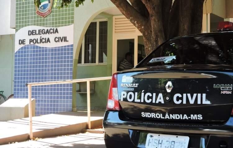 Motorista foi preso e levado para a delegacia da cidade. (Foto: José Pereira/Sidrolândia News)