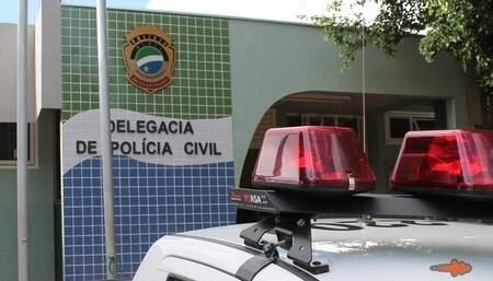 Adolescentes foram levados à Polícia Civil de Sidrolândia (Foto: Sidrolândia News)