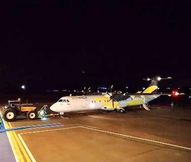 Com aeronave menor, Gol vai retomar os voos diários entre Dourados e SP