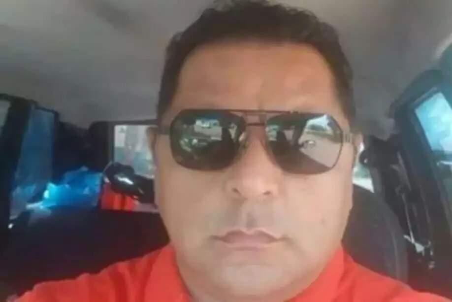 Policial Civil em Ponta Porã, Waldir Rojas, morreu em decorrência da covid-19 em junho (Foto: Reprodução)