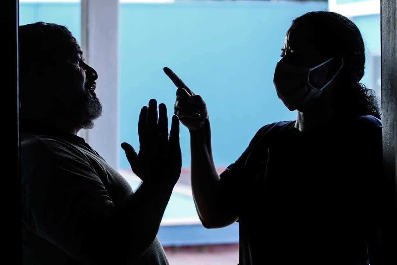 Quando a gente pensou que a paz voltaria... Coronavírus trouxe guerra às famílias. (Foto: Marcos Maluf)
