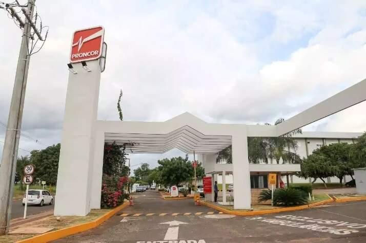 Hospital Proncor no bairro Chácara Cachoeira. (Foto: Paulo Francis/Arquivo)