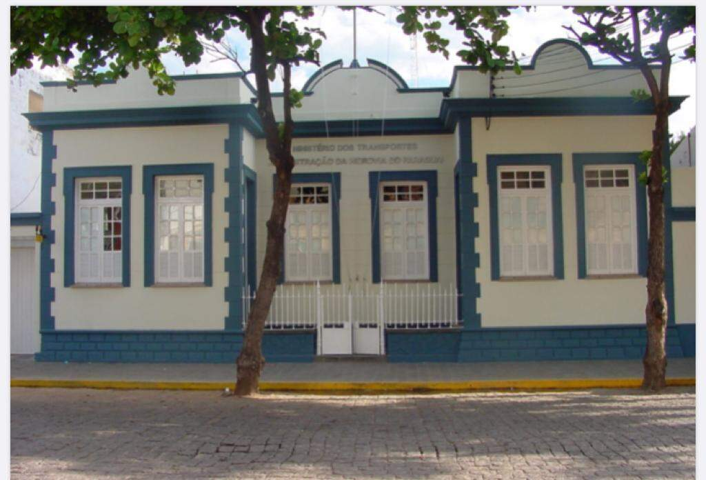 Nos últimos 30 anos estão instalados no prédio a Administração da Hidrovia do Paraguai-AHIPAR (Foto: AHIPAR)