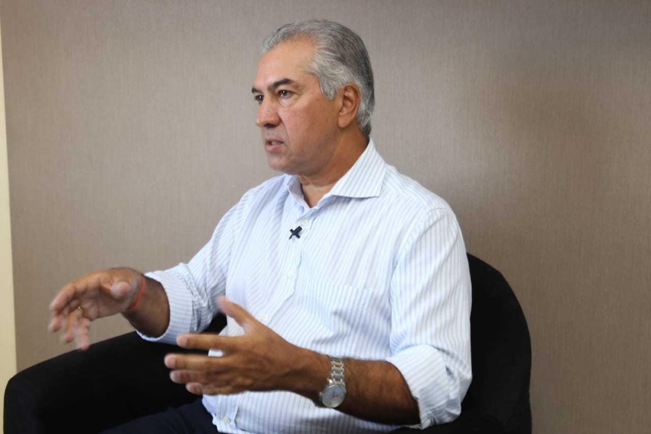 Governador Reinaldo Azambuja assinou carta de apoio a Câmara (Foto: Arquivo)