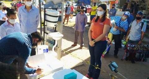Paraguai ativa 1º delivery na fronteira entre Pedro Juan e Ponta Porã