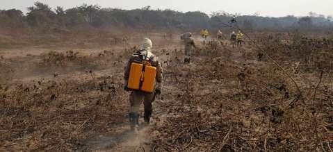 Governo pede aeronaves das Forças Armadas para ajudar no combate as queimadas