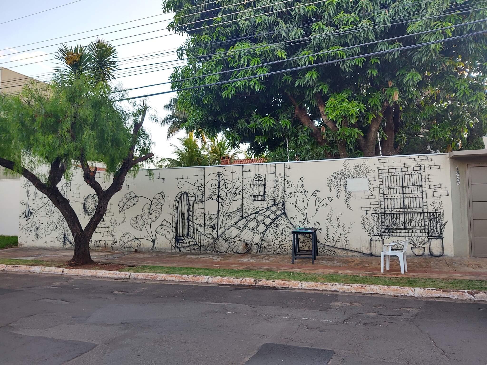 Paisagens e arquitetura desenhados atraem curiosos no Jardim Autonomista.