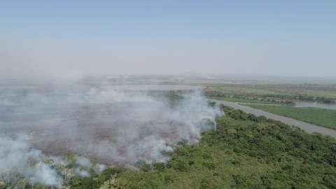 A partir de amanhã, mais 3 aeronaves reforçam combate a incêndios no Pantanal
