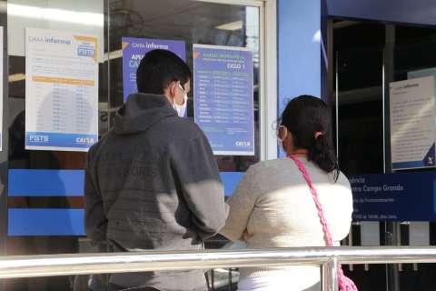 Caixa faz depósito hoje do FGTS emergencial para nascidos em maio