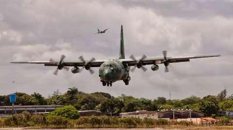Com avião federal para combate, Forte Coimbra é nova fronteira dos incêndios