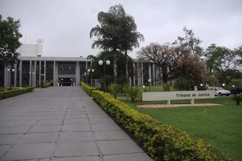 Fachado do Tribunal de Justiça de Mato Grosso do Sul. (Foto: Arquivo)