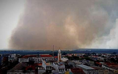Governo declara situação de emergência em áreas rurais de Corumbá e Ladário