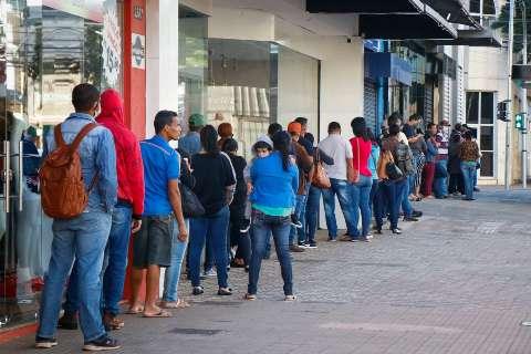 MS registra abertura de 1,4 mil vagas de trabalho com carteira assinada