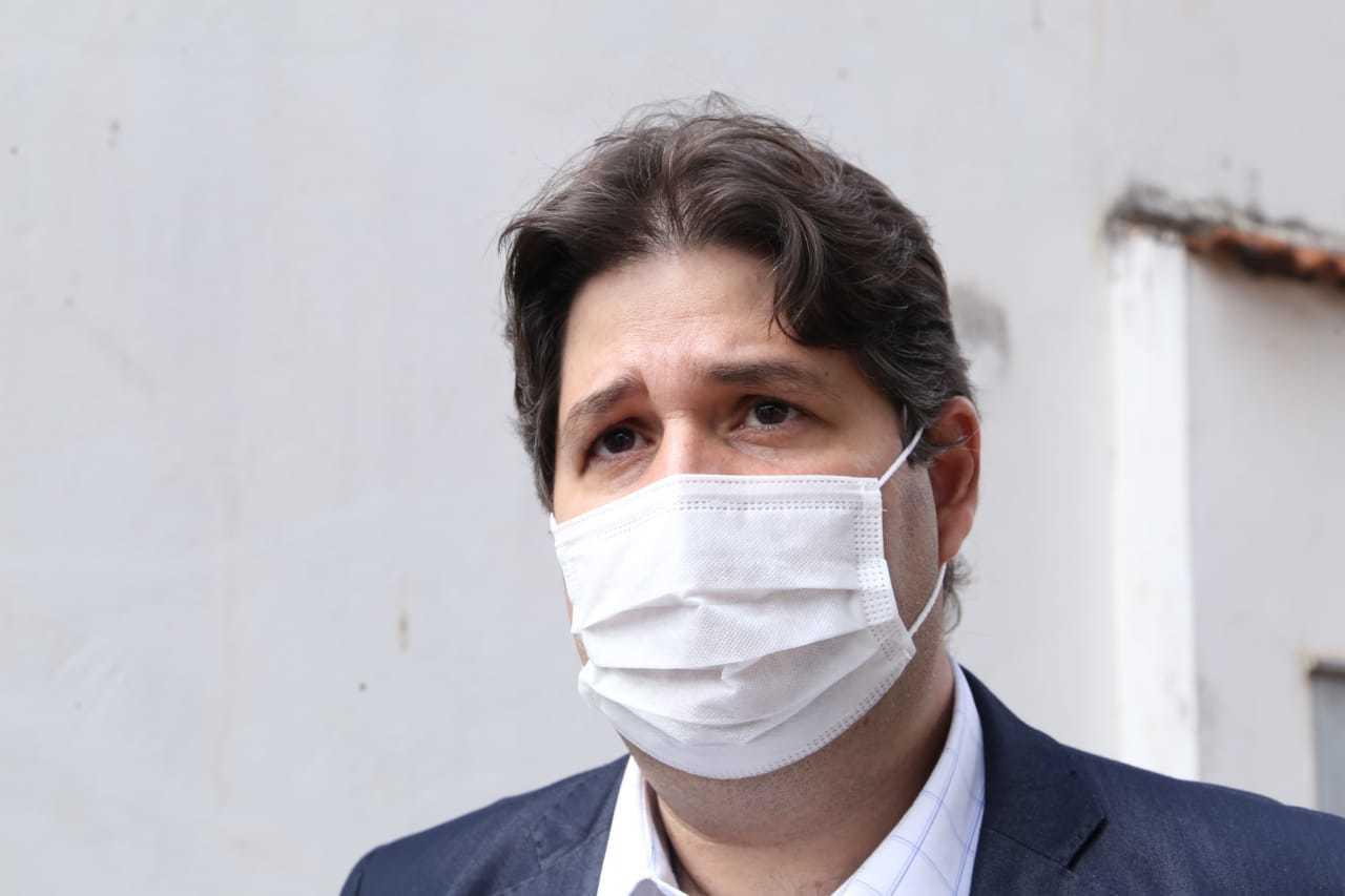 José Mauro Pinto, secretário municipal de saúde. (Foto: Kísie Ainoã)