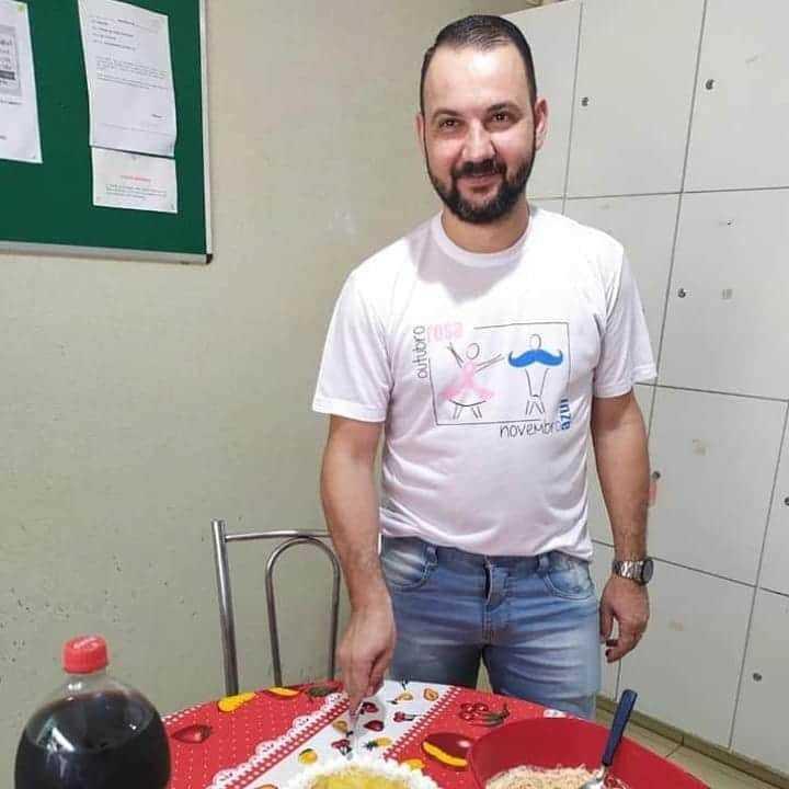 João Paulo da Matta, de 38 anos, era funcionário de uma clínica de oncologia. (Reprodução / Facebook)