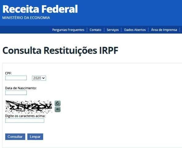 Terceiro lote do IR paga R$ 81,5 milhões para contribuintes de MS nesta sexta